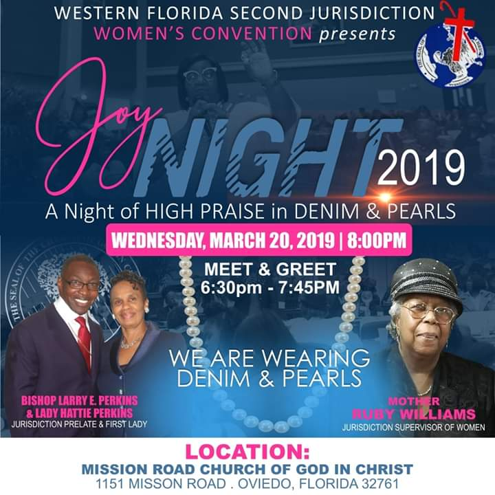 Joy Night 2019 presented by the Women's Convention | westernflsecond com